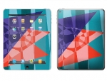 Apple iPad 2 Skin :: Geometric Blast