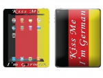Apple iPad 2 Skin :: Kiss Me German