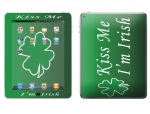 Apple iPad 2 Skin :: Kiss Me Irish