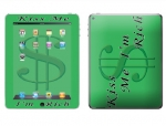 Apple iPad 2 Skin :: Kiss Me Rich