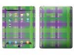 Apple iPad 2 Skin :: Punk Rock Plaid