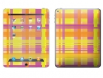 Apple iPad 2 Skin :: Sun Kissed Plaid