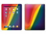 Apple iPad 2 Skin :: Polar Spectrum