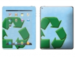 Apple iPad 2 Skin :: Recycle