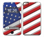 Apple iTouch (1st Gen) Skin :: American Flag 1