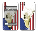 Apple iTouch (1st Gen) Skin :: American Flag 3