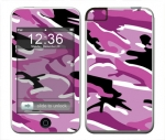 Apple iTouch (1st Gen) Skin :: Camo Pink
