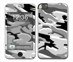 Apple iTouch (1st Gen) Skin :: Camo Snow