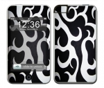 Apple iTouch (1st Gen) Skin :: Curly Contours