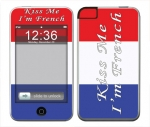 Apple iTouch (1st Gen) Skin :: Kiss Me French