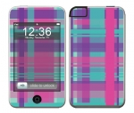Apple iTouch (1st Gen) Skin :: Candy Shop Plaid