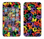 Apple iTouch 4th Gen Skin :: Alphabet Soup