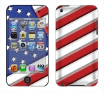 Apple iTouch 4th Gen Skin :: American Flag 1