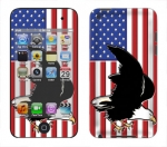 Apple iTouch 4th Gen Skin :: American Flag 2