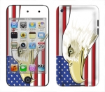 Apple iTouch 4th Gen Skin :: American Flag 3