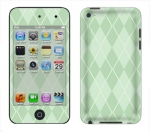 Apple iTouch 4th Gen Skin :: Argyle Green
