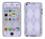 Apple iTouch 4th Gen Skin :: Argyle Purple