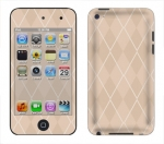 Apple iTouch 4th Gen Skin :: Argyle Tan
