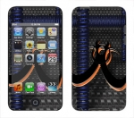 Apple iTouch 4th Gen Skin :: Bio Hazard