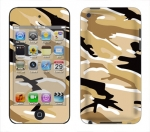 Apple iTouch 4th Gen Skin :: Camo Desert