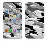 Apple iTouch 4th Gen Skin :: Camo Snow