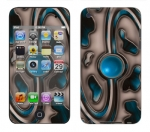 Apple iTouch 4th Gen Skin :: Cynic Blue