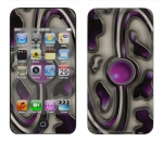 Apple iTouch 4th Gen Skin :: Cynic Purple