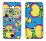 Apple iTouch 4th Gen Skin :: Digital Butterfly
