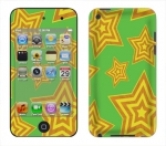 Apple iTouch 4th Gen Skin :: Falling Stars