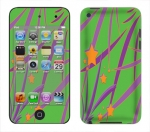 Apple iTouch 4th Gen Skin :: Floating Stars