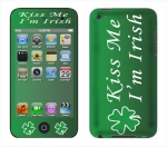 Apple iTouch 4th Gen Skin :: Kiss Me Irish