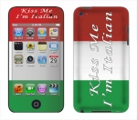 Apple iTouch 4th Gen Skin :: Kiss Me Italian