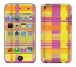 Apple iTouch 4th Gen Skin :: Sun Kissed Plaid