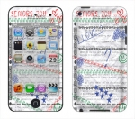 Apple iTouch 4th Gen Skin :: Seniors 2011