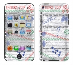 Apple iTouch 4th Gen Skin :: Seniors 2013