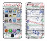 Apple iTouch 4th Gen Skin :: Seniors 2014
