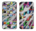 Apple iTouch 4th Gen Skin :: Shredded Circuit