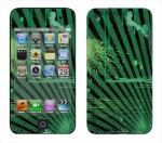 Apple iTouch 4th Gen Skin :: Splatter Green