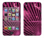 Apple iTouch 4th Gen Skin :: Splatter Pink