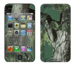 Apple iTouch 4th Gen Skin :: Tree Camo Green