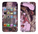 Apple iTouch 4th Gen Skin :: Tree Camo Pink