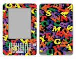 Amazon Kindle 2 Skin :: Alphabet Soup