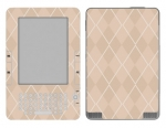 Amazon Kindle 2 Skin :: Argyle Tan