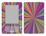 Amazon Kindle 2 Skin :: Color Blast