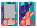Amazon Kindle 2 Skin :: Geometric Blast
