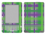 Amazon Kindle 2 Skin :: Punk Rock Plaid