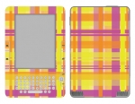 Amazon Kindle 2 Skin :: Sun Kissed Plaid
