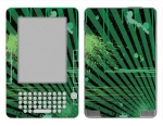 Amazon Kindle 2 Skin :: Splatter Green