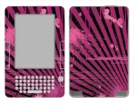 Amazon Kindle 2 Skin :: Splatter Pink
