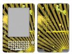 Amazon Kindle 2 Skin :: Splatter Yellow